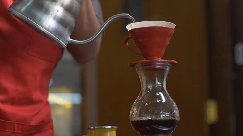 cara menyeduh kopi yang enak ala cafe - v60