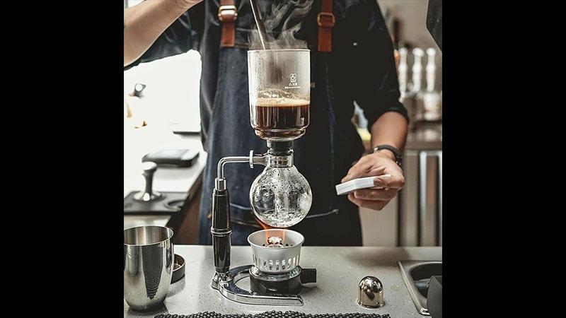 cara menyeduh kopi - syphon
