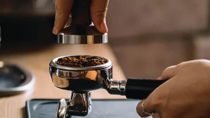 Mesin Kopi Espresso - Tamper