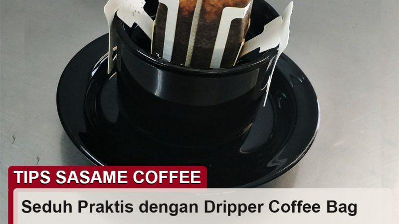 tips sasame coffee - dripper coffee bag