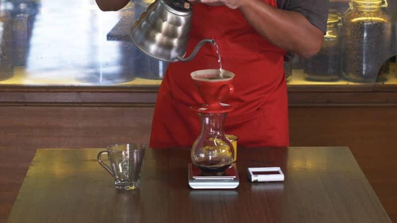 jenis minuman kopi - pour over
