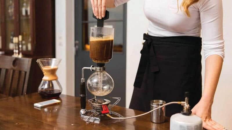 jenis minuman kopi - syphon