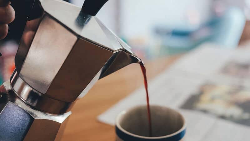 jenis-jenis minuman kopi - moka pot