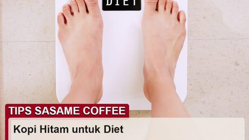 tips sasame coffee - kopi hitam untuk diet