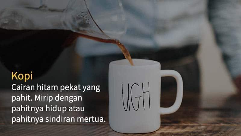 kata kata lucu tentang kopi - kopi