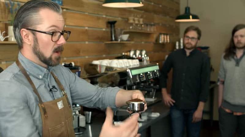 barista kopi - training