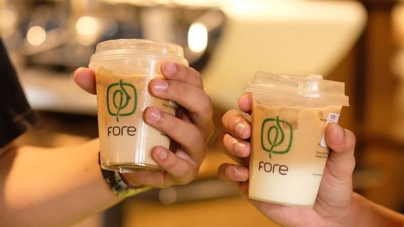 cara franchise fore coffee