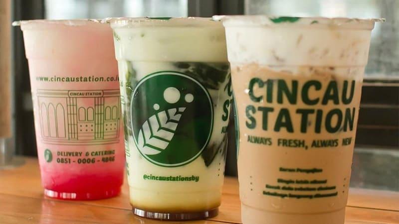 kualitas minuman cincau station
