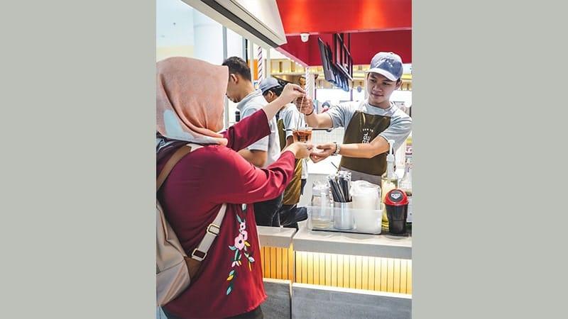 harga franchise dum dum thai tea drinks
